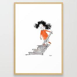 Hello Neighbor Framed Art Print