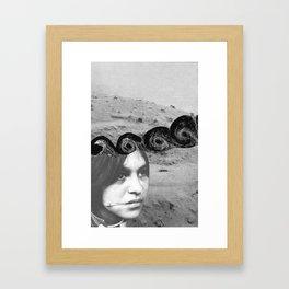 What she said Framed Art Print