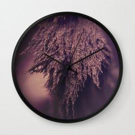 Woolly Wall Clock