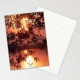 When the sun kisses Stationery Cards