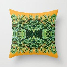 Tropic Totem Throw Pillow