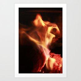 Dancing Flame Art Print