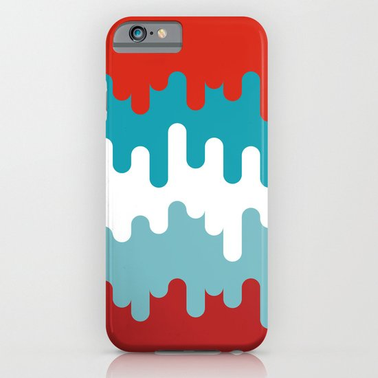 Drips and Drops - Smurf iPhone & iPod Case