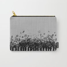 Black Piano music Carry-All Pouch