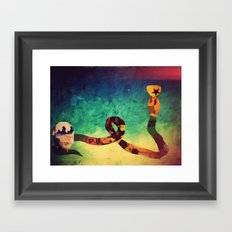 come together over me Framed Art Print