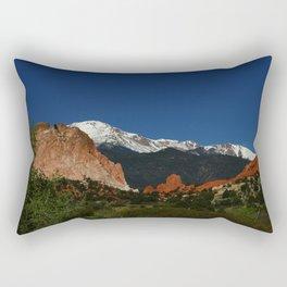 Garden Of God Valley View Rectangular Pillow