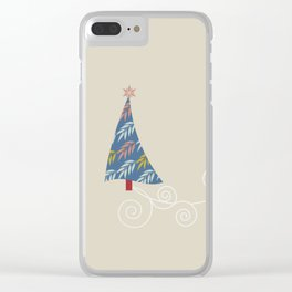 Happy Holidays! Clear iPhone Case
