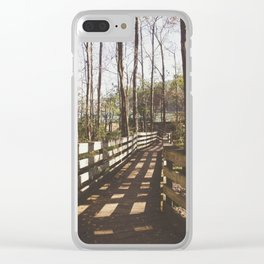 Florida Beauty 6 Clear iPhone Case