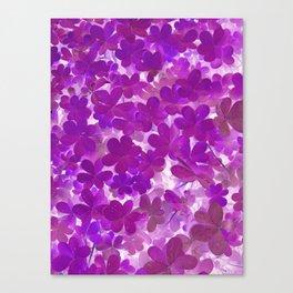 Clover V Canvas Print