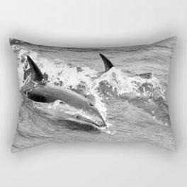 Dancing Duskies Rectangular Pillow