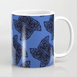 Ninja Star Outline Pattern Coffee Mug
