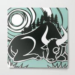 Astrology Northwest: Taurus Metal Print