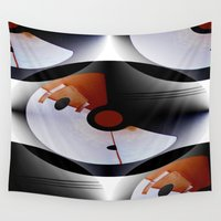 deco Wall Tapestries featuring Arte Deco by Artisimo
