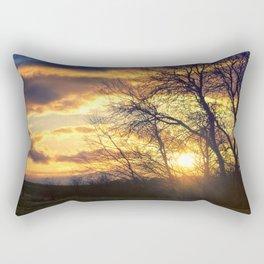 Sunshine Scattered Rectangular Pillow