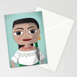 Otavalo women Stationery Cards