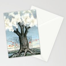 Wood fire Stationery Cards
