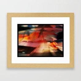 Water Palette Framed Art Print