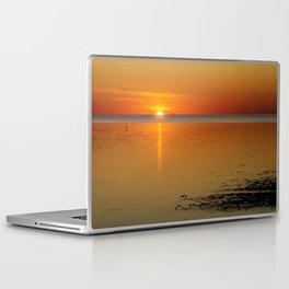 Sunrise over the bay Laptop & iPad Skin