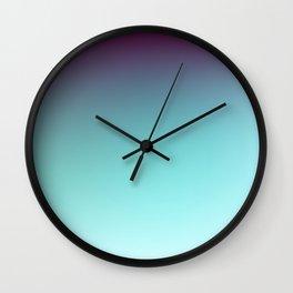 AQUA / Plain Soft Mood Color Blends / iPhone Case Wall Clock