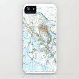 Key Largo Octopus iPhone Case