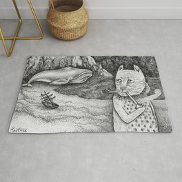 The Whale, The Castle & The Smoking Cat Rug