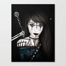 Voices in the Dark Canvas Print