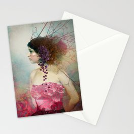 Portrait in Pastell 2 Stationery Cards