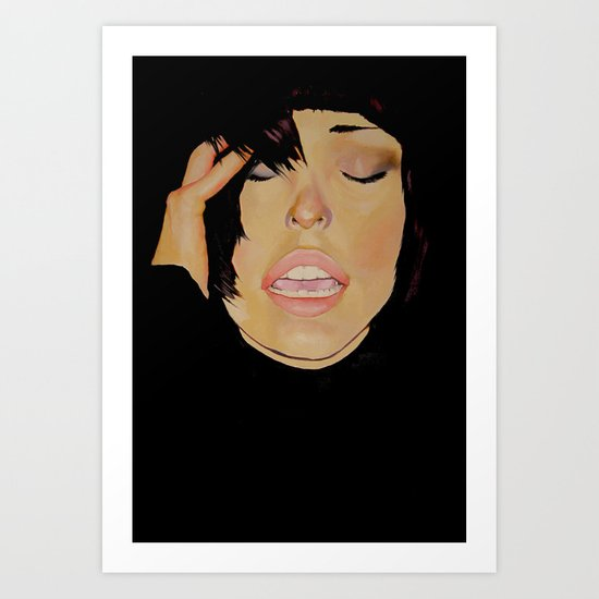 Moved by Faces Art Print
