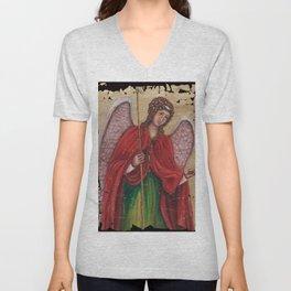 Archangel Gabriel Unisex V-Neck