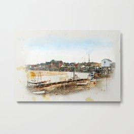 Harbour, Wells-next-the-Sea Metal Print