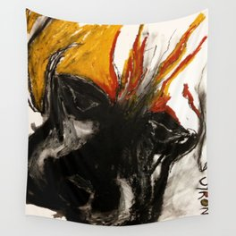 A Dog Called Flame Wall Tapestry