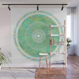 Magnetically Woven Mandala #1 Astronomy Print Science Print Wall Art Wall Mural