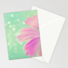 Touch the Bokeh Light Stationery Cards