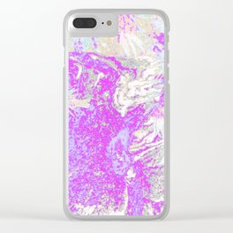 efflorescent #58.3 Clear iPhone Case