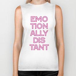 Distant Pink Biker Tank