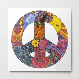 Peace Sign Metal Print