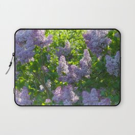Summer lilac nature pattern Laptop Sleeve