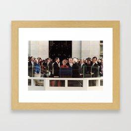 Ronald Reagan Inauguration - 1981 Framed Art Print
