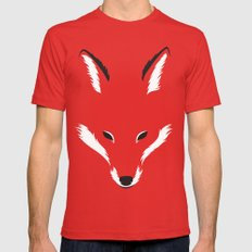 Foxy Shape Mens Fitted Tee Red LARGE
