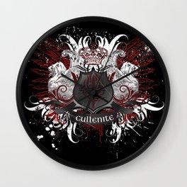 Cullenite Crest (on dark background) Wall Clock