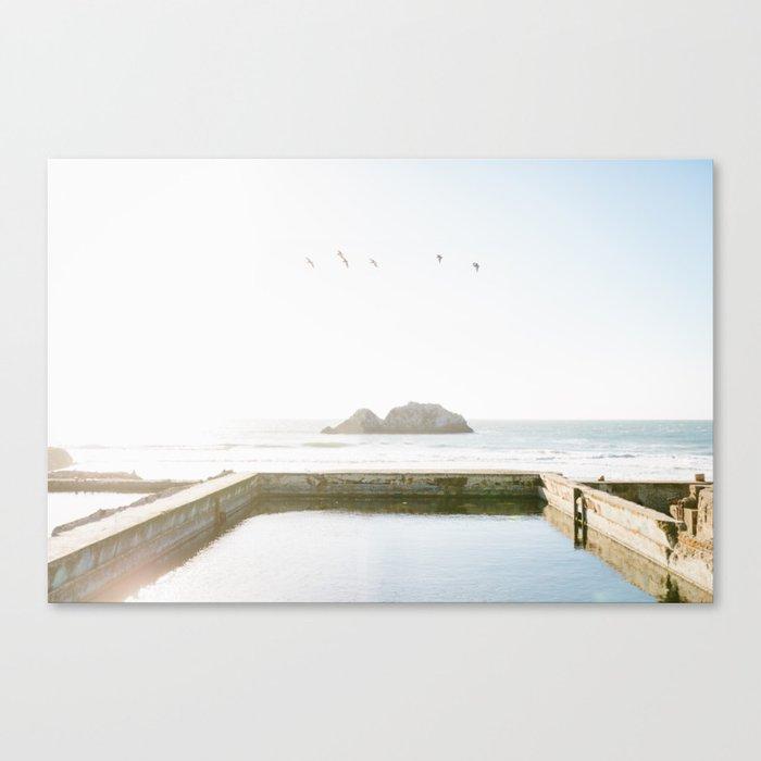 Sutro Baths Canvas Print
