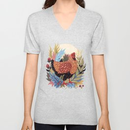 Spring Chicken Unisex V-Neck