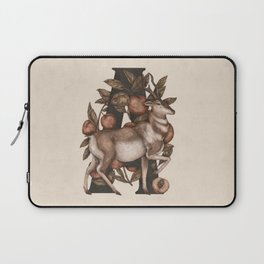 Letter A: Antelope & Apricots Laptop Sleeve