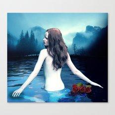 Cold River Canvas Print