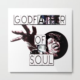 GODFATHER OF SOUL Metal Print