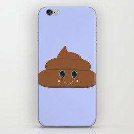 Happy poo iPhone Skin