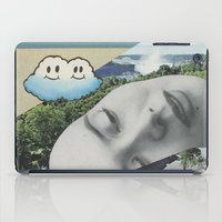 postcard iPad Cases featuring Postcard #22 by Jon Duci