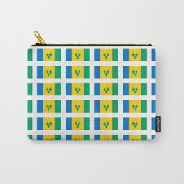 flag of Saint Vincent and the Grenadines-Saint Vincent,Grenadines,Vincentian, Vincy,Kingstown Carry-All Pouch