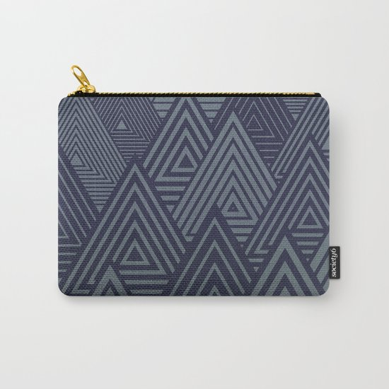 Indigo Forest Carry-All Pouch
