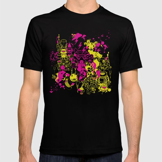Dream Factory Pink and Yellow T-shirt